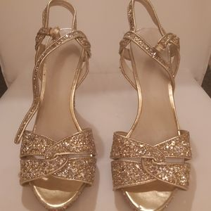 Sparkling Platform Heels